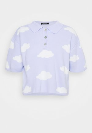 Poloshirt - clear blue