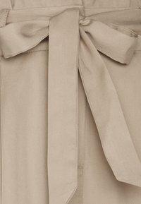 Vero Moda - VMVIVIANAEVA LOOSE PABERBAG PANT - Trousers - beige - 2