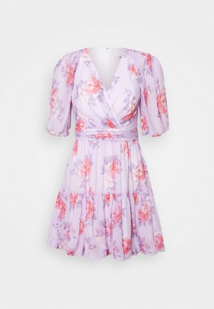 SOFT BUBBLE MINI - Day dress - purple