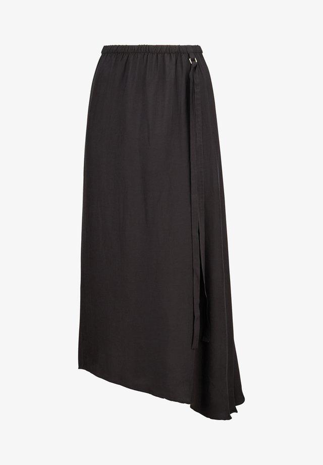A-line skirt - blackish