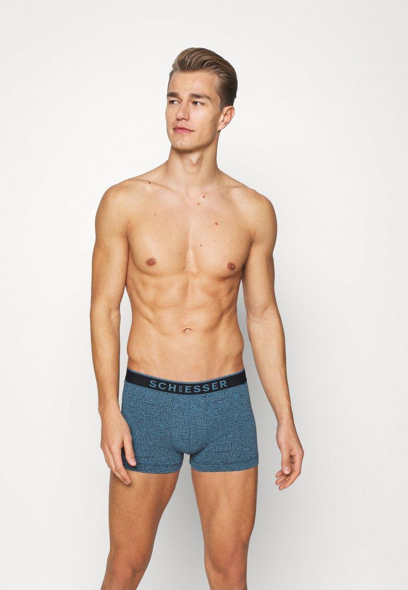 Schiesser - SHORTS 2 PACK - Pants - dark blue