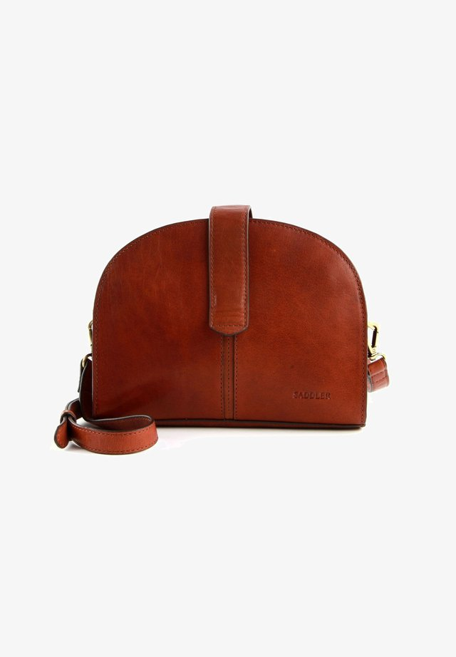 Freja  - Across body bag - Midbrown