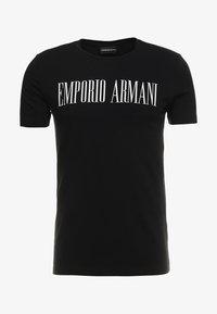Emporio Armani - T-shirt imprimé - nero - 4