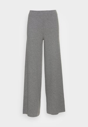 CEGALF PANTS WOMAN - Trousers - grey melange