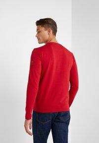 EA7 Emporio Armani - T-shirt à manches longues - red - 2