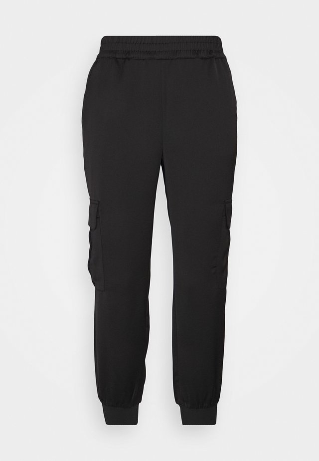 LUXE JOGGER - Tracksuit bottoms - black
