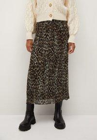 Mango - LEO - A-line skirt - black - 0