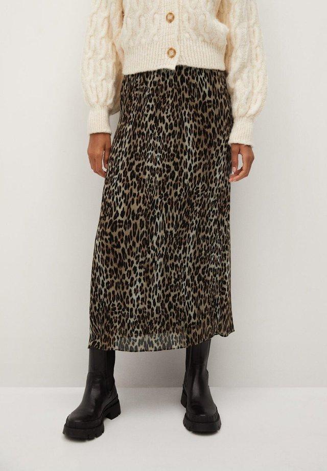 LEO - A-line skirt - black