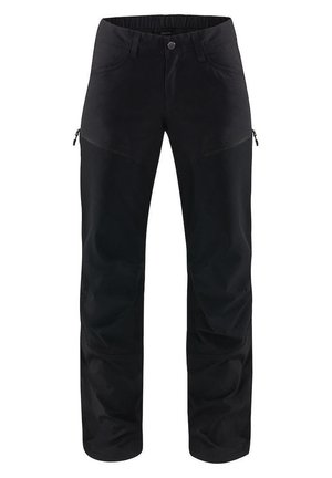 MID FLEX PANT - Outdoor trousers - true black solid long