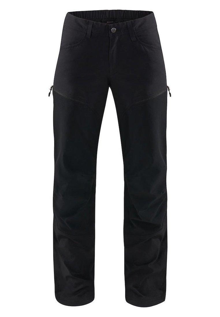 Haglöfs - MID FLEX PANT - Outdoor trousers - true black solid long