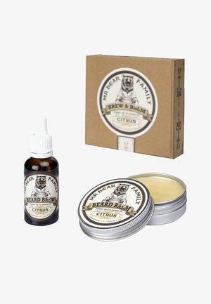 BREW & BALM - Shaving set - citrus