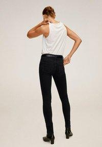 Mango - KIM - Jeansy Skinny Fit - black denim - 2