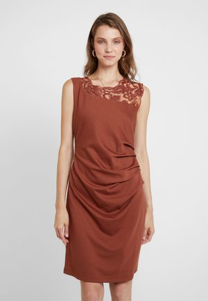 INDIA VIVI DRESS - Etui-jurk - tortoise shell