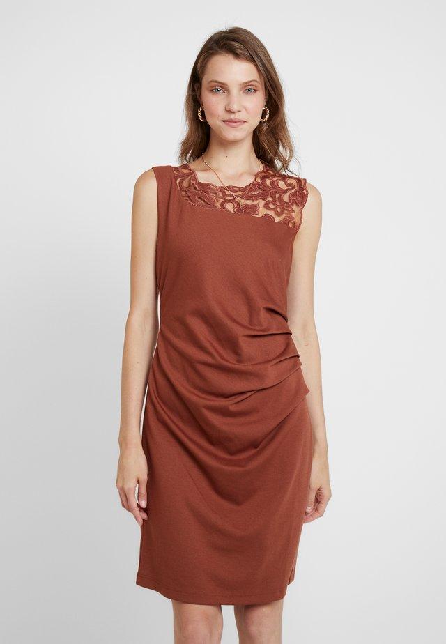 INDIA VIVI DRESS - Shift dress - tortoise shell