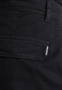 Pier One - Pantalon cargo - black - 4