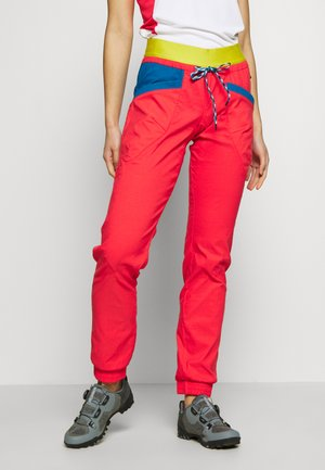 MANTRA PANT  - Trousers - hibiscus/neptune