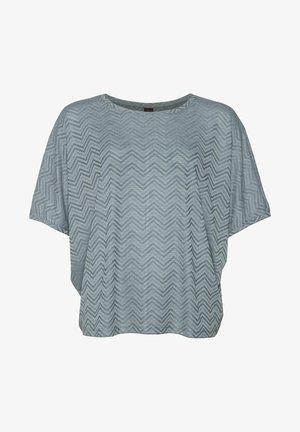 Print T-shirt - grey day