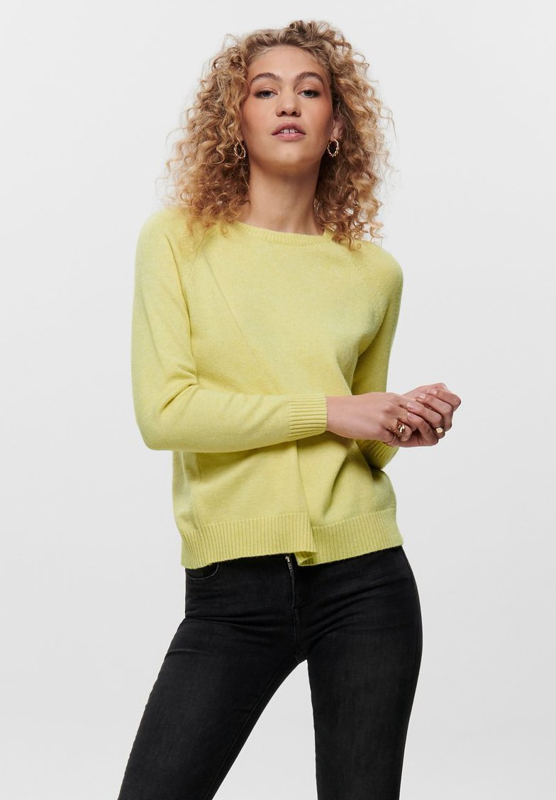 ONLY - LESLY KINGS - Trui - elfin yellow