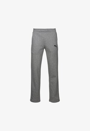 ESSENTIALS - Tracksuit bottoms - medium gray heather-cat