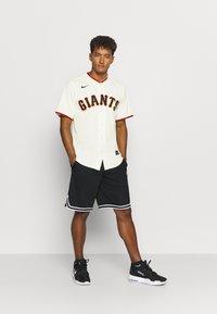 Nike Performance - MLB SAN FRANCISCO GIANTS OFFICIAL REPLICA HOME - Klubové oblečení - pro cream - 1