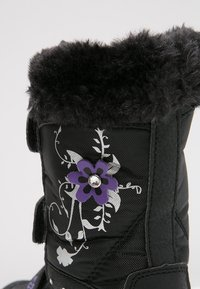 LICO - MARY  - Winter boots - schwarz/lila - 5