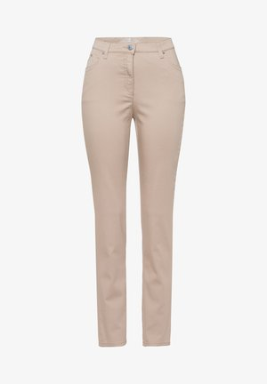 STYLE INA - Slim fit jeans - beige