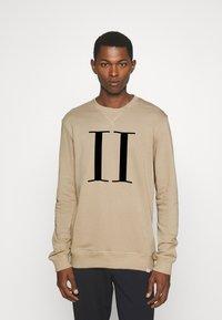 Les Deux - ENCORE LIGHT - Sweatshirt - dark sand/black - 0