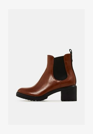 Ankle boots - toffee