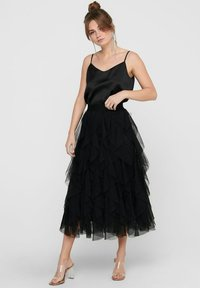 ONLY - A-line skirt - black - 0