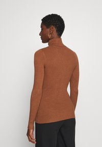 Anna Field - BASIC- RIBBED TURTLE NECK - Jumper - brown - 2