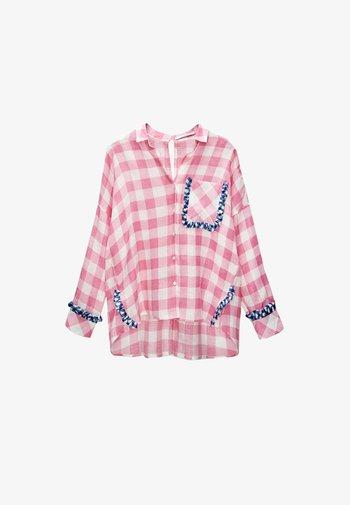 Button-down blouse - pink