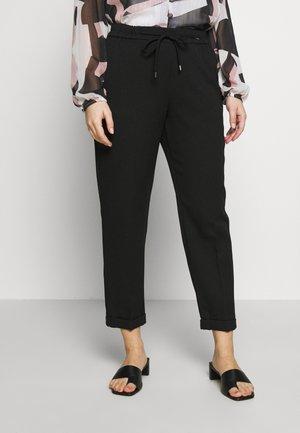PETITE FORMAL JOGGER - Spodnie materiałowe - black