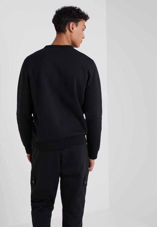Polo Ralph Lauren DOUBLE TECH - Bluzka z długim rękawem - black/cream/czarny Odzież Męska EUVG