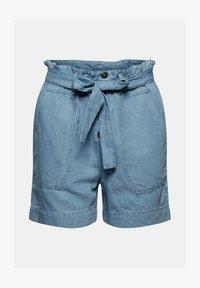 Esprit - Denim shorts - blue light washed - 8