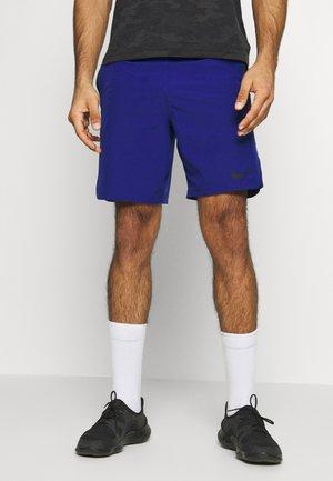 FLEX REP SHORT - Sportovní kraťasy - deep royal blue