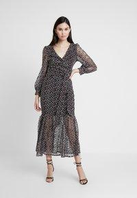 Mossman - THE SPELLBOUND SKIRT - Maxi skirt - black/white - 1