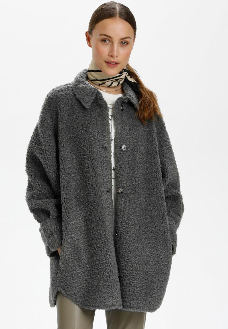 Soaked in Luxury - Winter coat - castor gray