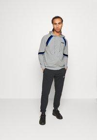 Diadora - CUFF SUIT CORE SET - Trainingsanzug - light middle grey melange - 1