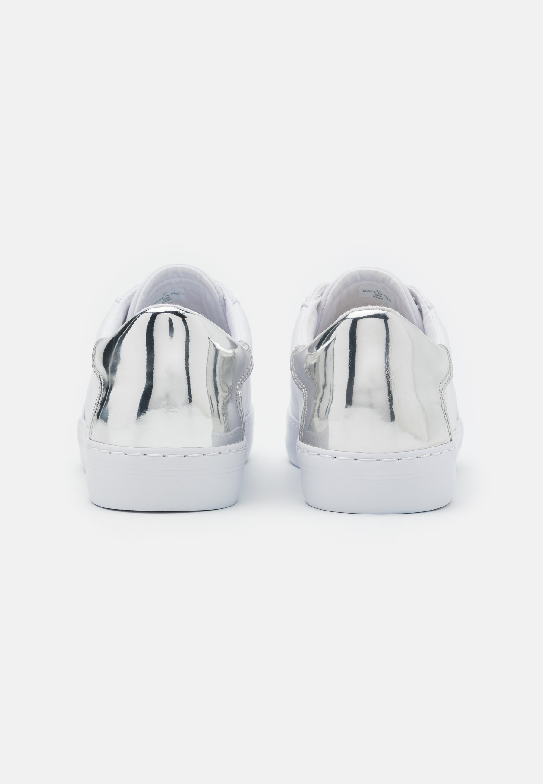 Guess Gallie - Sneaker Low White/silver/weiß
