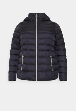 SHORT PACKABLE - Down jacket - dark navy
