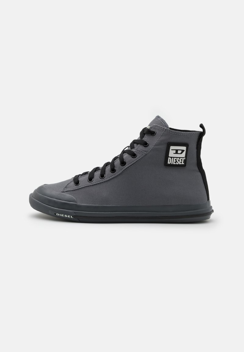Diesel - S-ASTICO MID CUT - High-top trainers - grey