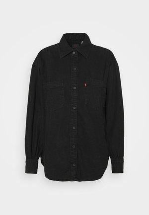 REMI UTILITY - Button-down blouse - black rose