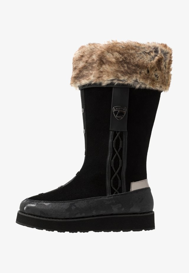 SULAVA  - Snowboots  - black