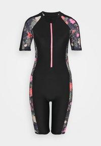 Zoggs - HAPPY KNEESUIT - Swimsuit - black - 0