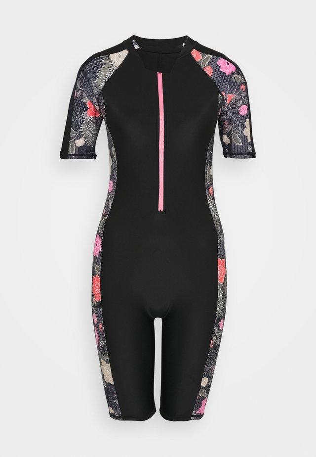 HAPPY KNEESUIT - Swimsuit - black