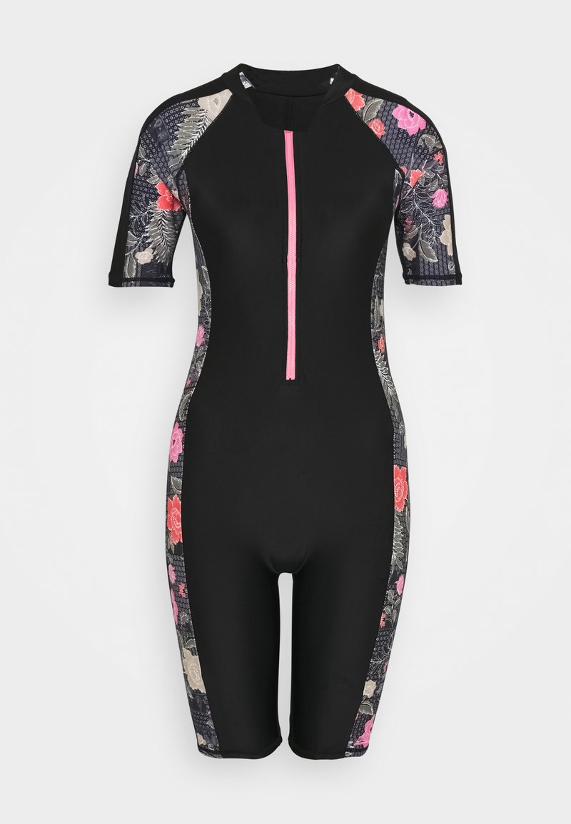 Zoggs - HAPPY KNEESUIT - Swimsuit - black