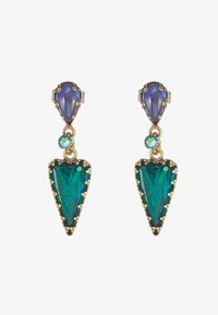 Konplott - SNOW WHITE - Earrings - blue/green - 3