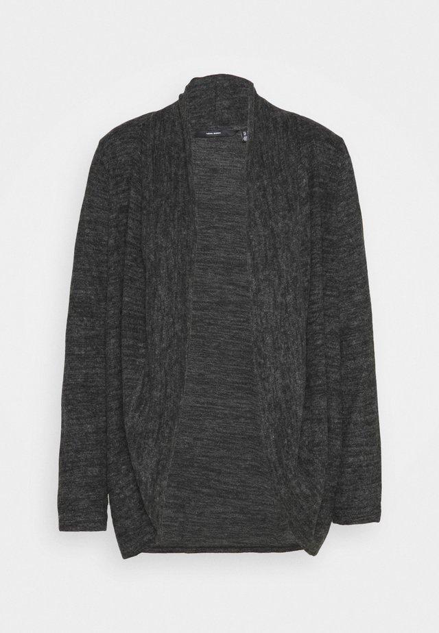 VMTAMMI - Cardigan - dark grey melange