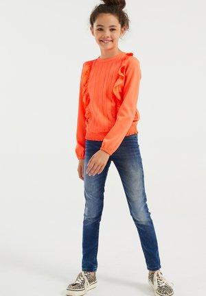 MET VOLANT - Top sdlouhým rukávem - bright orange