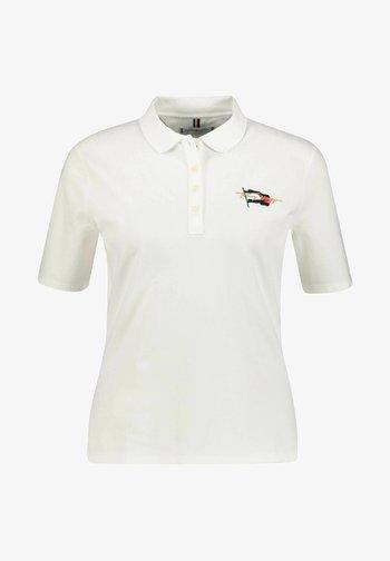 REGULAR FLAG - Polo shirt - weiss